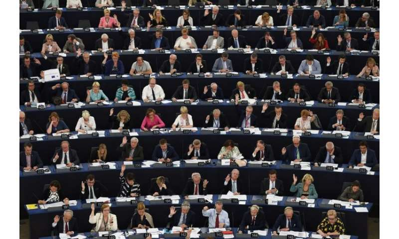 A key European parliament committee has narrowly passed a highly disputed European copyright law that could force online platfor