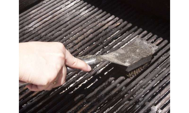 AMA urges caution with use of wire-bristle BBQ grill brushes