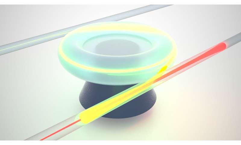 A microscopic roundabout for light--team develops a magnet-free optical circulator