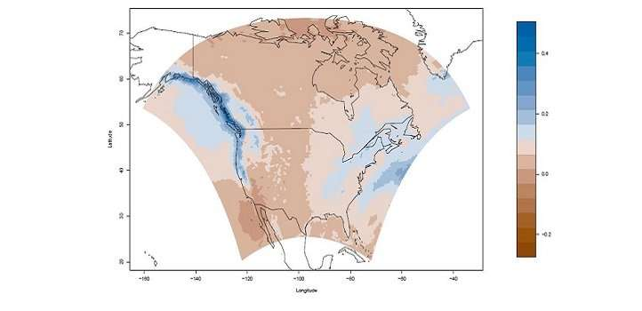 A more accurate way of resolving spatial patterns in weather could lead to better predictions of climate change