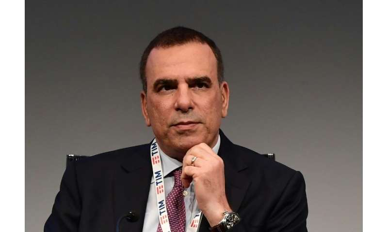 Amos Genish, seen here at the Telecom Italia shareholders meeting on Friday, will stay on as the comapny's CEO