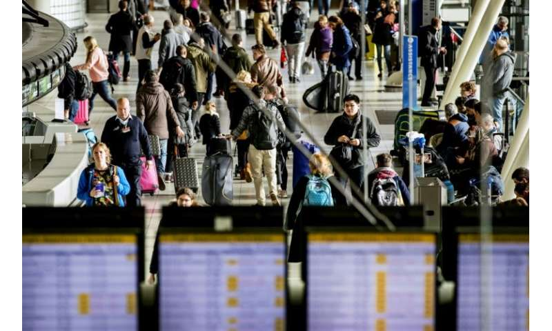 Amsterdam's Schiphol is close to its maximum capacity