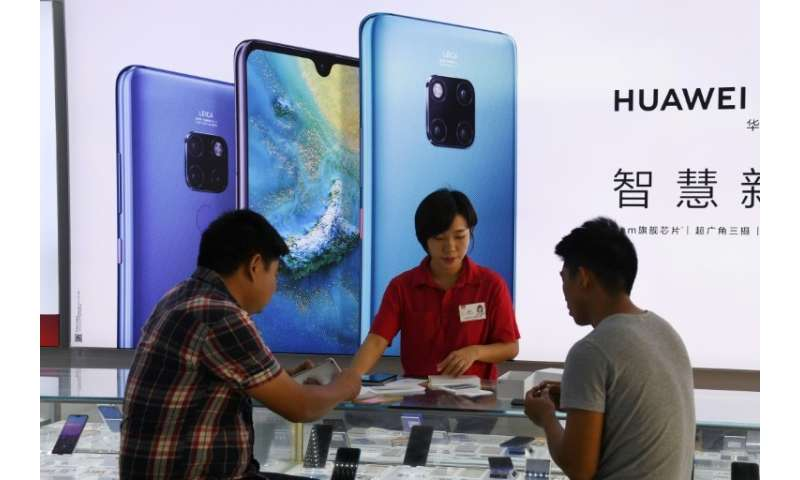 Analysts say mounting concern over Huawei imperils its lead over the market
