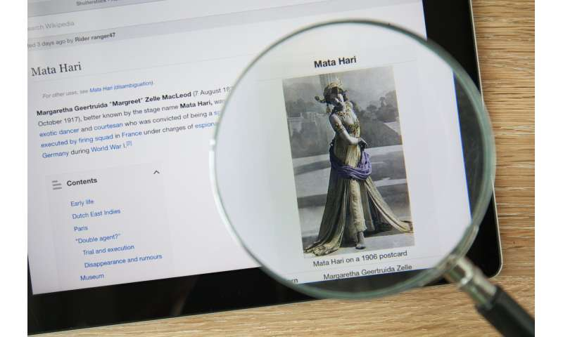 Analyzing why Wikipedia often overlooks stories of women in history
