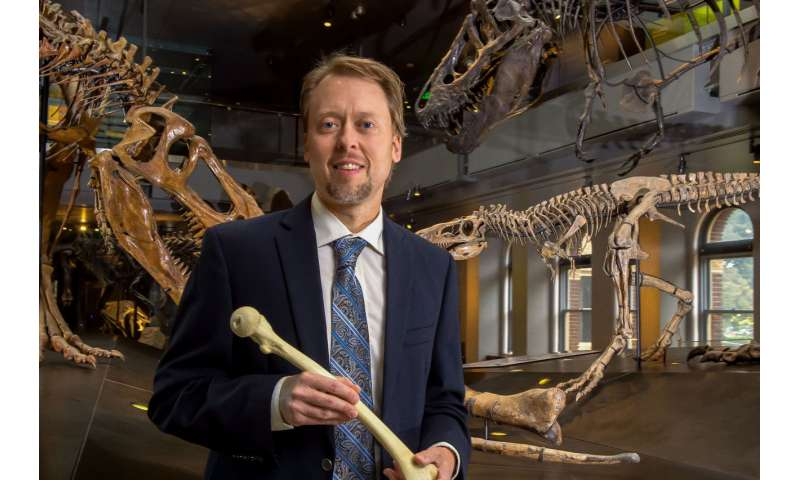 A paleontologist who teaches anatomy is good for medicine and science