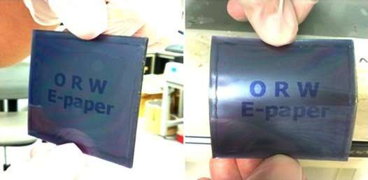 A paperlike LCD -- thin, flexible, tough and cheap