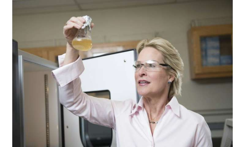 A photo courtesy of California Institute of Technology (Caltech) shows US scientist Frances Arnold, only the fifth woman to win