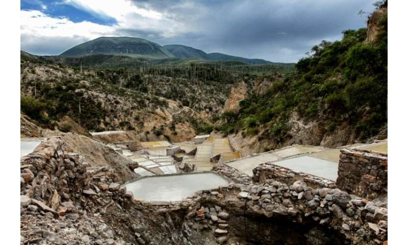 A pre-Hispanic salt production site in the Tehuacan-Cuicatlan Valley in Zapotitlan Salinas, Puebla State, Mexico