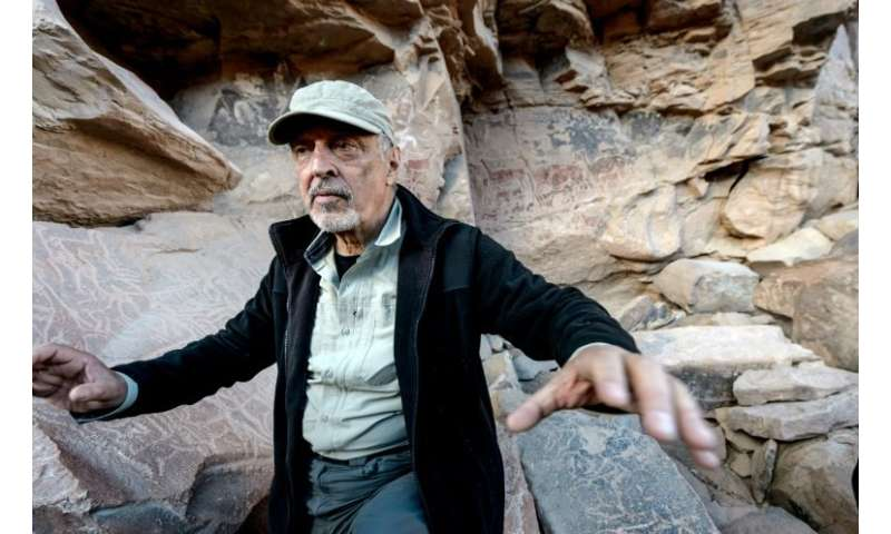 """Archeologist Jose Berenguer says the Taira rock art is the most """"beautiful and complex"""" in Chile"""