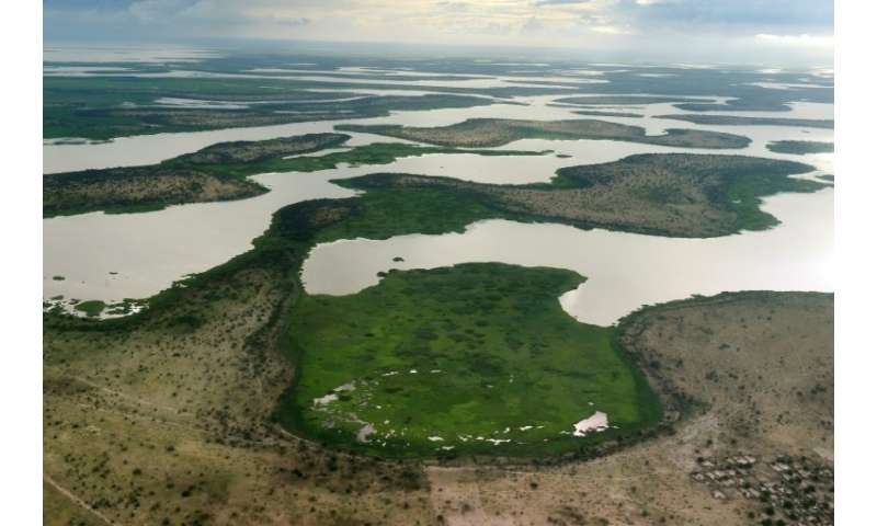 Around 40 million people live on or around Lake Chad—but the vital resource is shrinking fast under the impact of climate change