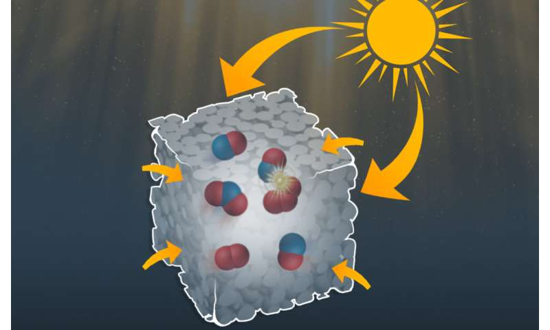 A RUDN chemist created nanoreactors to synthesize organic substances under visible light