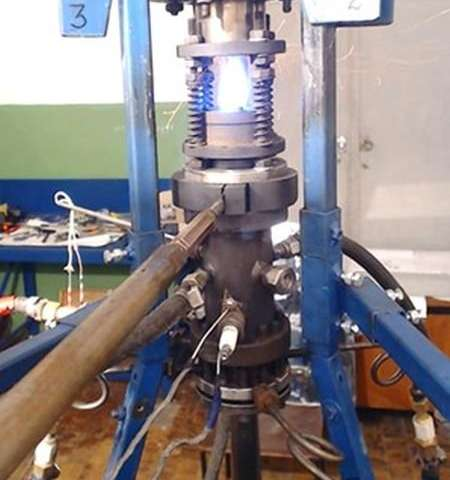 A 'self-eating' rocket engine which could place small satellites in orbit more easily and more affordably is un