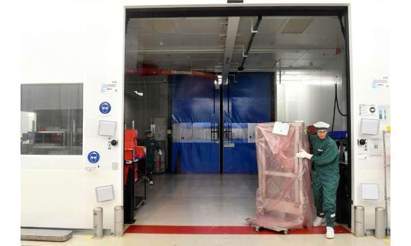 ASML employs about 20,000 people, mostly engineers