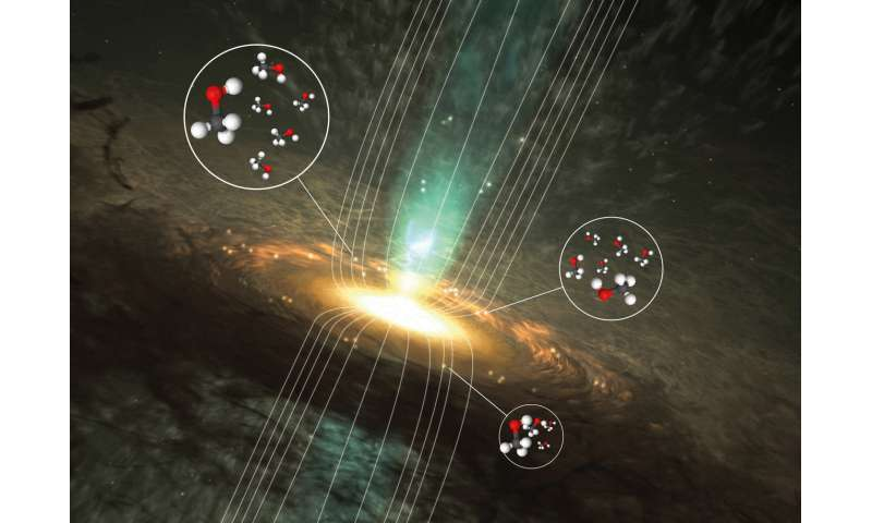 Astrochemists reveal the magnetic secrets of methanol