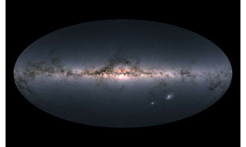 Astronomers open a new window on the sky with the release of a 3-D map of over one billion stars in the Milky Way
