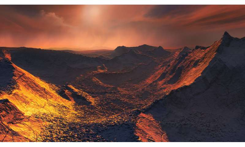 A super-Earth found in our stellar back yard