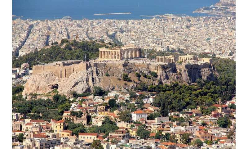 Athens is named the 2018 European capital of innovation