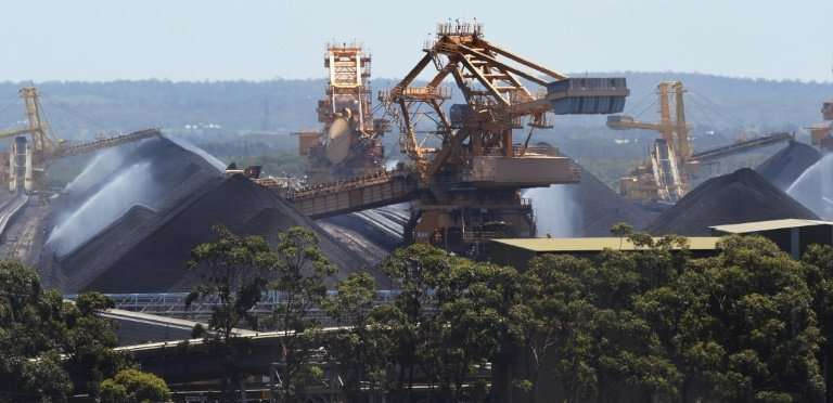 Australia is one of the world's top coal producers