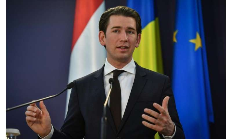 Austrian leader Kurz said his finance minister was  working out the details of the new tax and will unveil the basic framework i