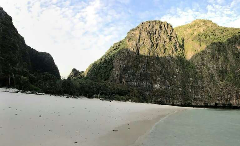 Authorities shut the area  to the public to let Maya Bay recover