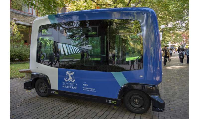 Autonomous vehicle to improve integrated transport solutions