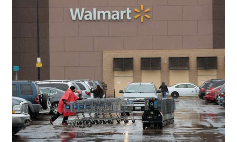 A Walmart store in Chicago, Illinois: Walmart is selling off a majority stake in its Brazil stores to a private equity group, Ad
