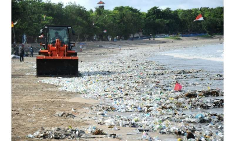 "Bali last year declared a ""garbage emergency"" across a six-kilometre stretch of coast that included popular beaches Ji"