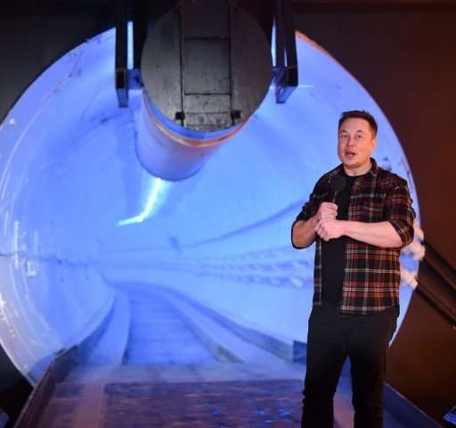 "BElon Musk said the only way to solve traffic problems was ""to go 3D, for the transport system to match the living quarters"