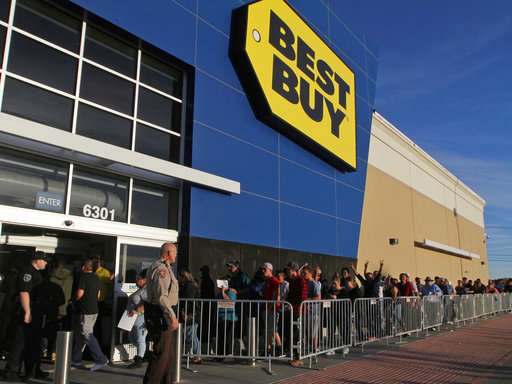 Best Buy warns of data breach