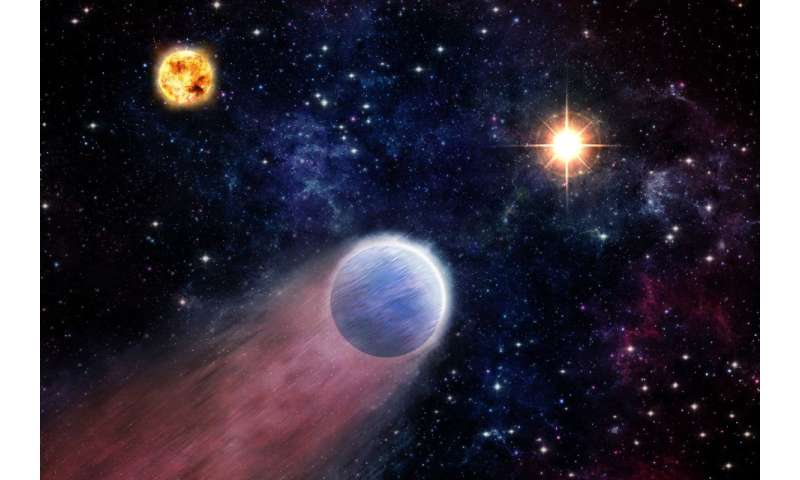 Black hole blasts may transform 'mini-Neptunes' into rocky worlds