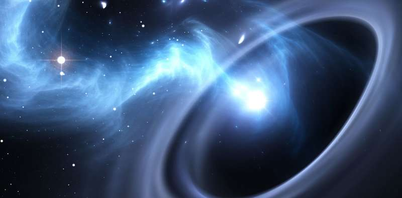 Black hole breakthrough: New insight into mysterious jets