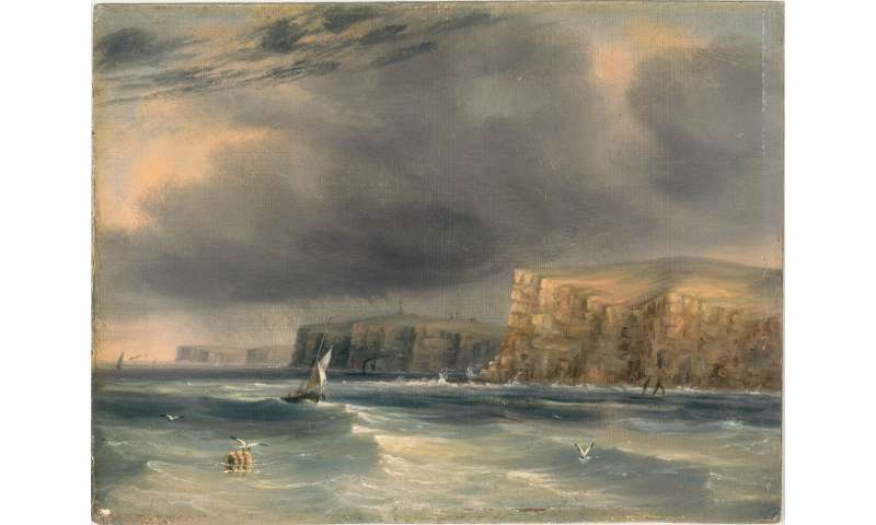 Black skies and raging seas—how the First Fleet got a first taste of Australia's unforgiving climate
