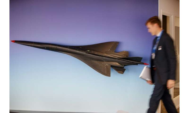 Boom Supersonic aims to slash journey times by half