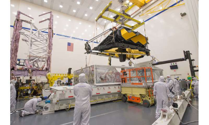 Both halves of NASA's Webb Telescope successfully communicate
