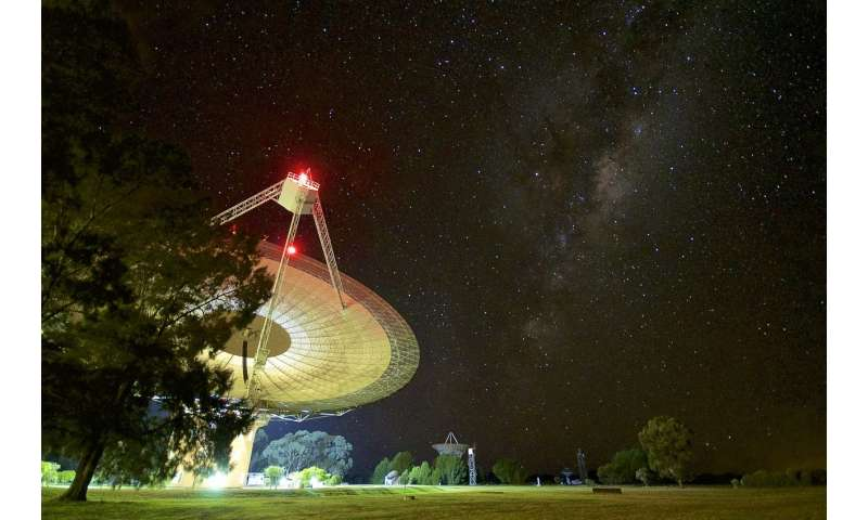 Brightest fast radio burst yet recorded at Parkes in Australia
