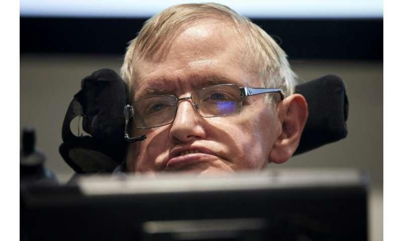 British scientist Stephen Hawking captured the imagination of millions around the world