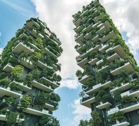 Building green cities