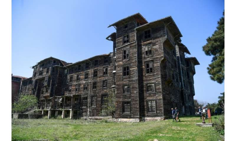 Built on an island off Istanbul at the end of the 19th century, the Prinkipo Greek Orthodox orphanage was initially designed to