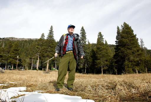 California: Hardly any snow but not in drought again, yet