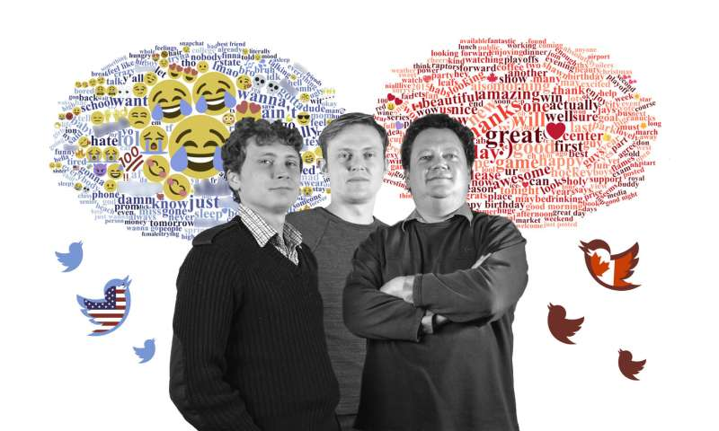 Canadians' and Americans' Twitter language mirrors national stereotypes, researchers find