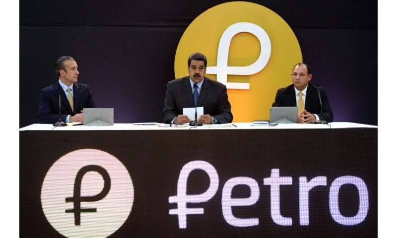 Caracas placed an initial value of $60 on a unit of petro, but may have received less than half that during the private pre-sale