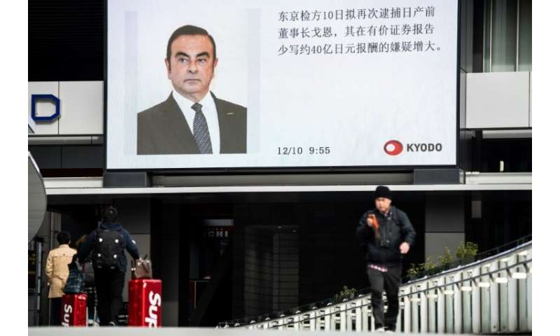 Carlos Ghosn has been held under arrest in Japan since November 19 on charges of financial misconduct and under-reporting his pa