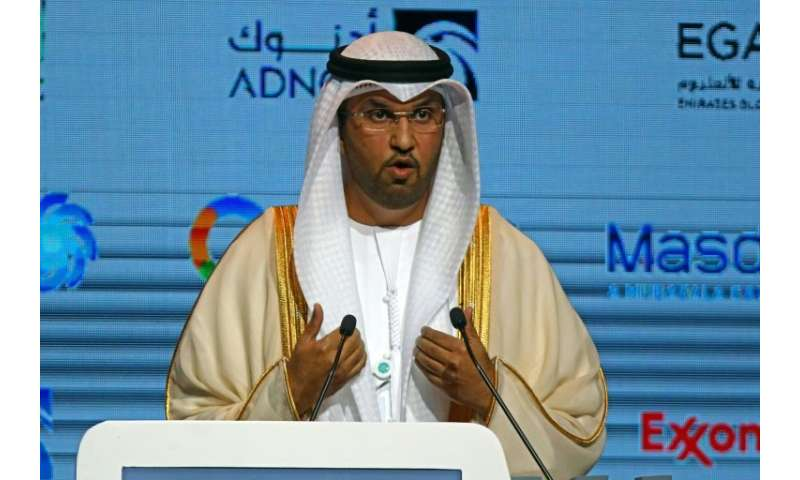 CEO of the Abu Dhabi National Oil Company, Sultan al-Jaber, pictured in 2017, said a new project aims to boost ADNOC's refining