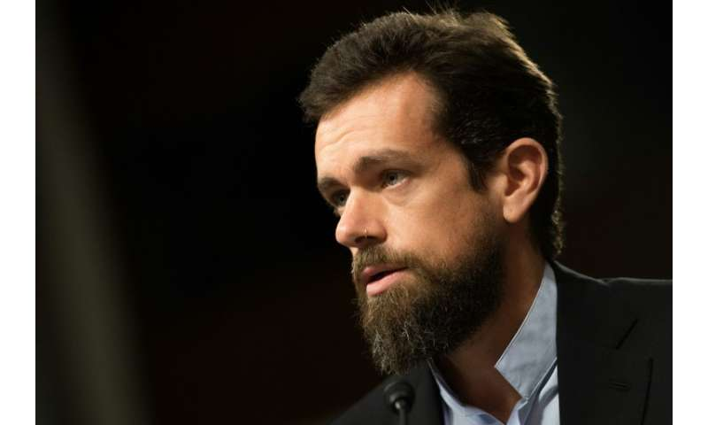 """CEO of Twitter Jack Dorsey told lawmakers the platform was ill-equipped for """"weaponized"""" social media influence campai"""