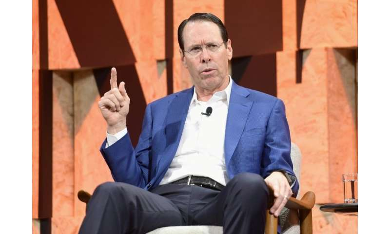 Chairman and CEO of AT&T Randall Stephenson speaks onstage during a Vanity Fair event in Beverly Hills, California, in Octob