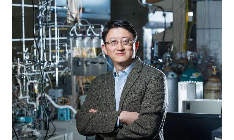 Chemists follow molecules down 'nanowells,' track catalytic reactions in nanoconfinement