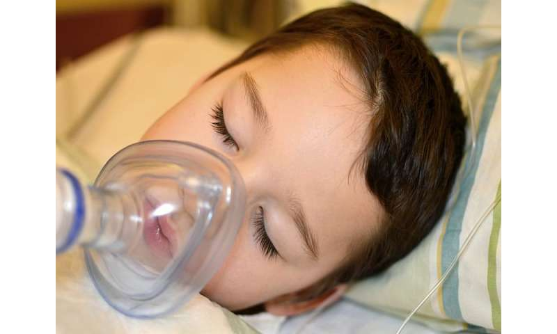 Children can drink clear fluids until one hour before anesthesia