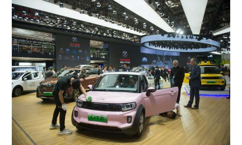 China's BAIC ranked first in global EV sales last year, turning over 96,000 units, according to data from automotive research fi