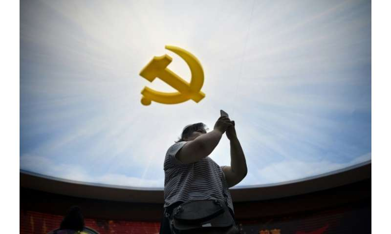 Chinese officials have held sessions on controlling information with 36 of the 65 countries assessed by a human rights study