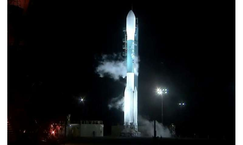 Cloaked in pre-dawn darkness, the $1 billion, half-ton ICESat-2 launched aboard a Delta II rocket from Vandenberg Air Force base